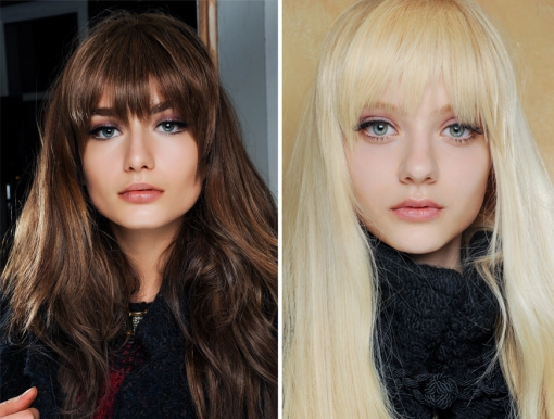Pucci Fringe Fall Winter 2013-14 Hairtrend